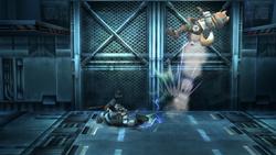 Snake Ataque Fuerte Inferior-SSBB