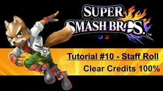 Tutorial 10 Credits zu 100% freilegen Clear credits 100% SSB4 Wii U