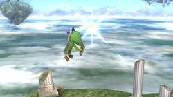 Ataque circular frontal (3) SSB4 (Wii U)