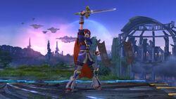 Burla hacia arriba Roy SSB4 (Wii U)