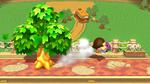 Contrataque leñador (5) SSB4 (Wii U)