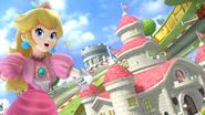 Créditos Modo Senda del guerrero Peach SSB4 (Wii U)