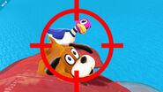 El Dúo Duck Hunt en Pilotwings SSB4 (Wii U)