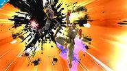 Ryu usando su Smash Final en Sheik SSB4 (Wii U)
