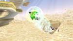 Salto eólico (Pit Sombrío) SSB4 (Wii U)