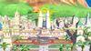 Samus Zero y la Entrenadora de Wii Fit en Ciudad Delfino SSB4 (Wii U)