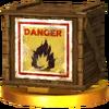 Trofeo de Caja explosiva SSB4 (3DS)