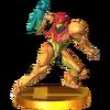 Trofeo de Samus (armadura Varia) SSB4 (3DS)