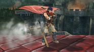 Burla inferior de Ike (3) SSB4 (Wii U)
