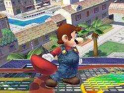 Burla lateral Mario SSBB