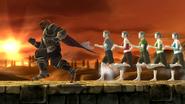 Créditos Modo Leyendas de la lucha Ganondorf SSB4 (Wii U)