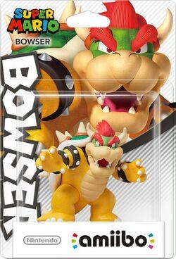 Embalaje del amiibo de Bowser (serie Mario)