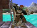Ganondorf espera Pose Melee