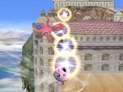 Lanzamiento hacia arriba de Jigglypuff SSBB (2)