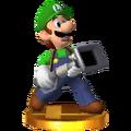 Luigi + PoltergustTrofeo SSB4 (3DS)