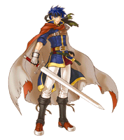 Pegatina de Ike (Fire Emblem Path of Radiance)