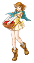 Pegatina de Mist (Fire Emblem Path of Radiance) SSBB