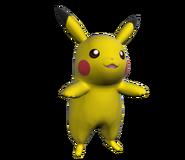 Pose T Pikachu SSB4 (Wii U)