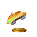 Trofeo de Nave de combate (Samus Zero) SSB4 (Wii U)