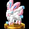 Trofeo de Sylveon SSB4 (Wii U)