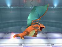 Ataque Smash superior de Charizard SSBB
