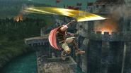 Ataque aéreo superior de Ike (2) SSB4 (Wii U)