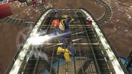 Ataque aéreo trasero de Captain Falcon SSB4 (Wii U)