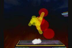 Burbujas de colision de Captain Falcon SSBM