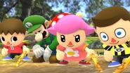 Créditos Modo Leyendas de la lucha Luigi SSB4 (Wii U)