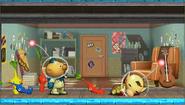 Créditos Modo Leyendas de la lucha Olimar SSB4 (3DS)
