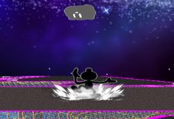 Lanzamiento hacia arriba Mr. Game & Watch (4) SSBM
