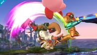 Ataque Smash hacia arriba de Fox Wii U
