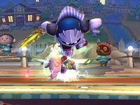 Lanzamiento inferior Meta Knight SSBB