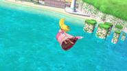 Sombrilla de Peach (3) SSB4 (Wii U)