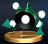 Trofeo aleado verde SSBB