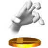 Trofeo de Crazy Hand SSB4 (3DS)