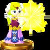 Trofeo de Zelda (Wind Waker) SSB4 (Wii U)