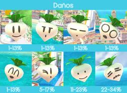 Verduras de Peach SSB4 (Wii U)