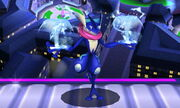 Burla inferior Greninja SSB4 (3DS)