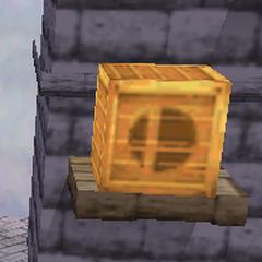 Una <i>caja</i> en <i>Super Smash Bros.</i>