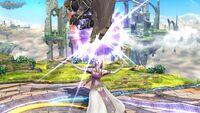 Lanzamiento hacia arriba (2) Zelda SSB4 Wii U
