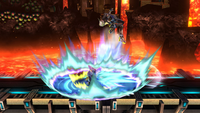 Lanzamiento inferior de Samus Zero (2) SSB4 (Wii U)