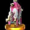 Trofeo de Bomba Hocotate SSB4 (3DS)