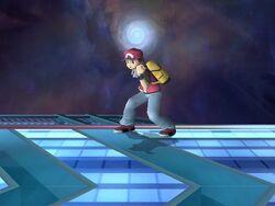 Burla lateral Entrenador Pokémon SSBB