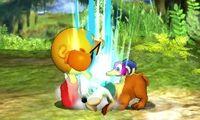 Lanzamiento inferior del Dúo Duck Hunt SSB4 (3DS)