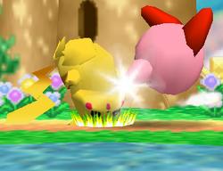 Lanzamiento trasero de Kirby (2) SSB