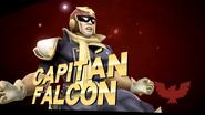 Pose de victoria de Captain Falcon (2-2) SSB4 (Wii U)