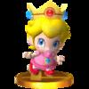 Trofeo de Bebé Peach SSB4 (3DS)