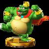 Trofeo de King K. Rool SSB4 (Wii U)