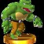 Trofeo de Kritter SSB4 (3DS)